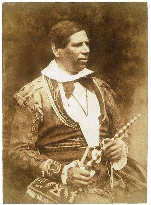 Peter Jones (missionary) - Image: Peter Jones 1845In Scotlad