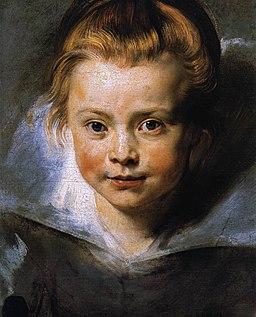 Peter Paul Rubens - Portrait of a Young Girl - WGA20359