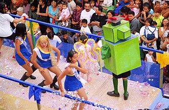 Poza Rica - Petroleum Day dancers