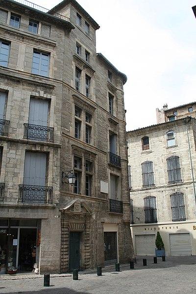 Pézenas (Hérault) - Hôtel des commandeurs de Saint-Jean.