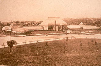 Phipps Conservatory and Botanical Gardens - The Conservatory in 1893.
