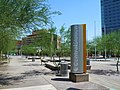 Phoenix Arizona, Valley Metro-Phoenix Transit Bus and Light Rail Central Station - panoramio.jpg