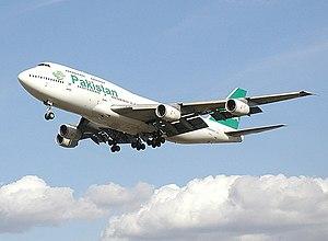 Pakistan International Airlines Boeing 747-300...