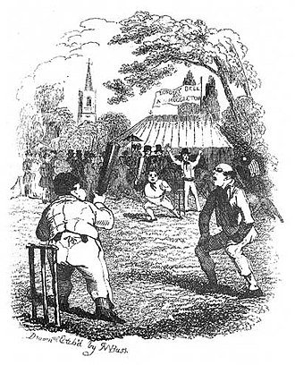 Robert William Buss - Illustration for The Pickwick Papers (1837)