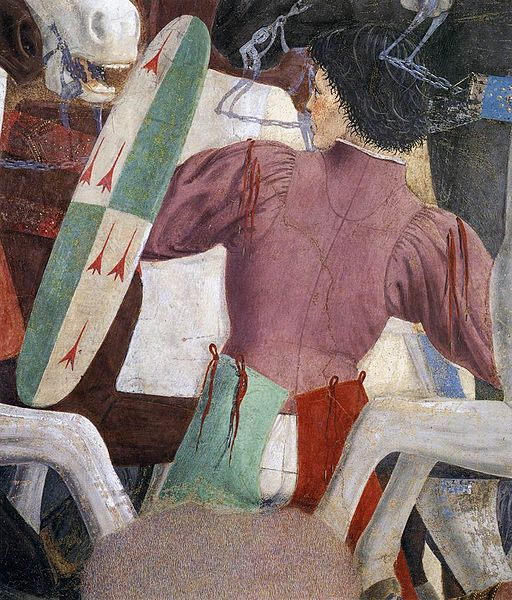 Piero della Francesca - 8. Battle between Heraclius and Chosroes (detail) - WGA17565