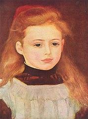 Porträt der Lucie Bérard (Kleines Mädchen mit weißer Schürze)