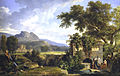 Pierre-Henri de Valenciennes - Classical Landscape with Figures Drinking by a Fountain - Google Art Project.jpg