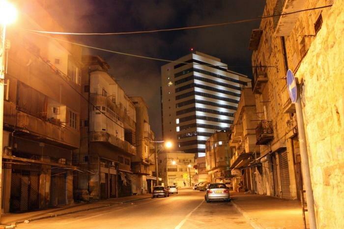 PikiWiki Israel 2535 haifa חיפה בלילה