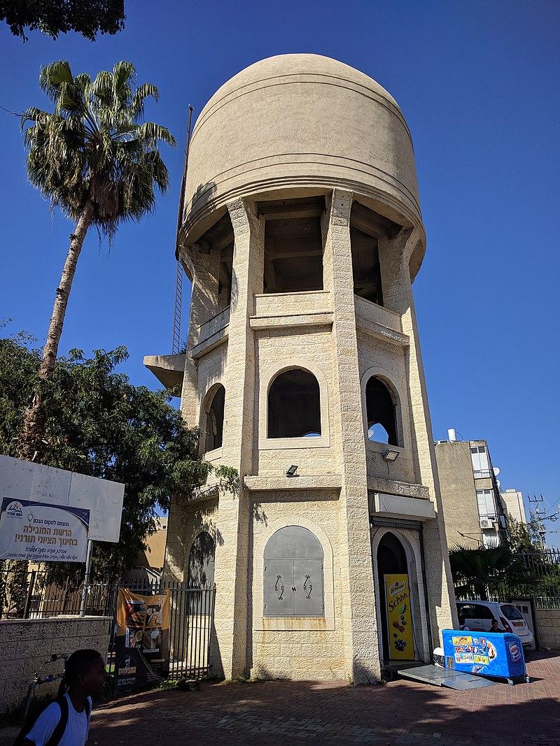 מגדל המים ברחוב כצנלסון, לוד
