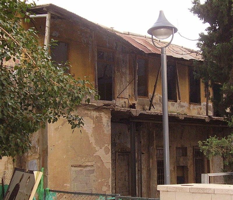 מבנה ישן בראשון לציון