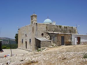 Iqrit - Image: Piki Wiki Israel 8755 the church in ikrit