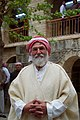 Pilgrims and festival at Lalish on the day of the Ezidi New Year in 2017 30.jpg
