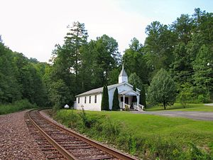 Pioneer, Tennessee - Pioneer Baptist Church