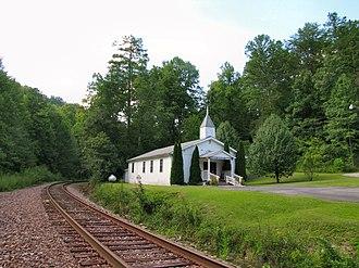 Pioneer, Tennessee - Pioneer Baptist Church
