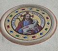Pirchangerkapelle, Mosaik-Medaillon.JPG