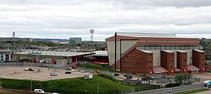 Pittodrie Stadium - Image: Pittodrie Stadium, Aberdeen 01