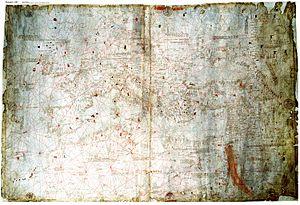 Domenico and Francesco Pizzigano - Image: Pizigani 1367 Chart 1MB