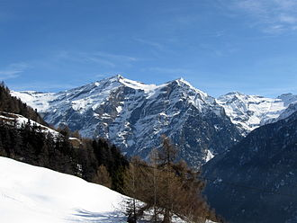 Cima dei Cogn - Cima Rossa (left) and Cima dei Cogn (right) from the west side