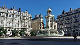 image illustrative de l'article Place des Jacobins (Lyon)