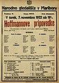 Plakat za predstavo Hoffmannove pripovedke v Narodnem gledališču v Mariboru 7. novembra 1922.jpg