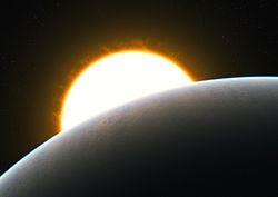 Planet with superstorm (artist's impression) 01.jpg