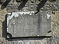 Plaque, Ballystrance National School - geograph.org.uk - 1771402.jpg