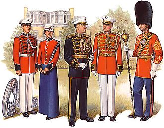 United States Marine Band - United States Marine Band uniforms