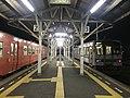 Platform of Nagatoshi Station at night 4.jpg