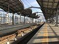 Platform of Yukuhashi Station (JR) 2.jpg