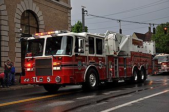 Pleasantville, New York - Pleasantville Firefighters' Parade, 2014