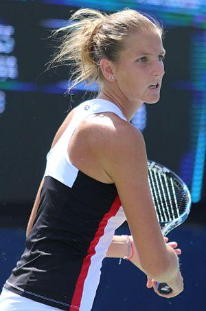 Karolína Plíšková - Karolína Plíšková at the 2016 US Open