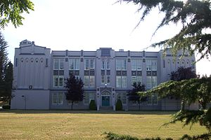Point Grey Secondary School - Front of Building