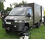 Polish Land Forces AMZ SCAM SM-50 ambulance.JPG