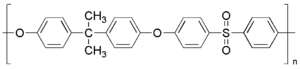 Polysulfone - Polysulfone repeating unit