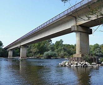 Imphy - The Imphy bridge