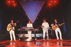 Auftritt der Band 2004