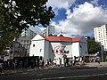 Pop-up Globe's first location, Auckland CBD 2016.jpg