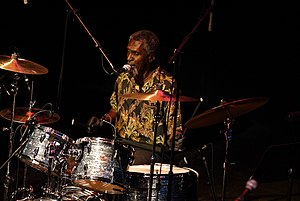 The Holmes Brothers - Popsy Dixon at the Drum kit, 2008