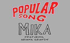 Logo del disco Popular Song
