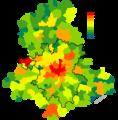 Population 2006 communes Haute-Vienne.png
