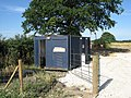 Portable toilet block at North Howden, East Riding of Yorkshire.jpg