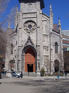 Saint-Jacques Cathedral (Montreal) Church in Montreal, Canada