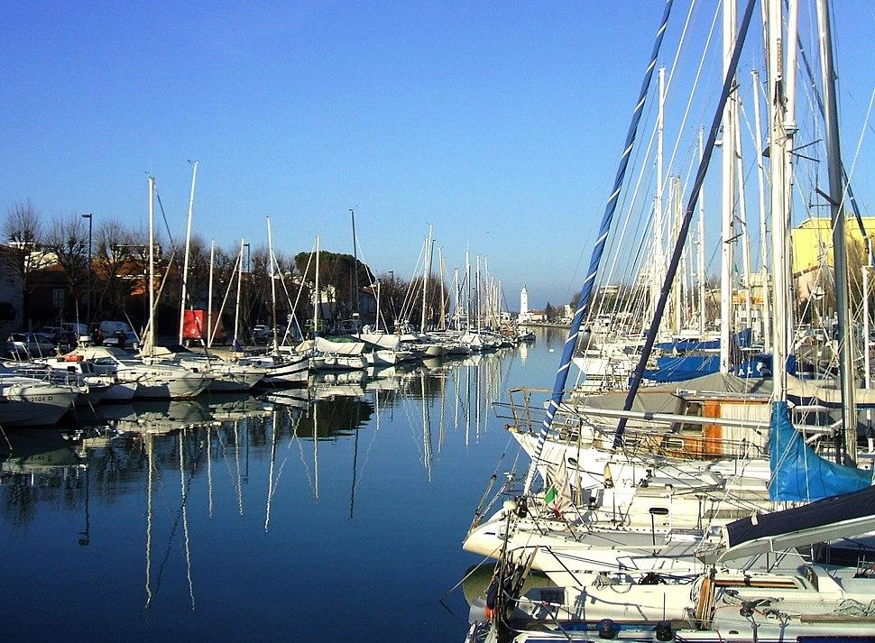 Porto canale, Rimini Italy