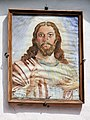 Portrait of Christ over the gate into the courtyard of the Church of the Annunciation in Kazimierz Dolny - 01.jpg