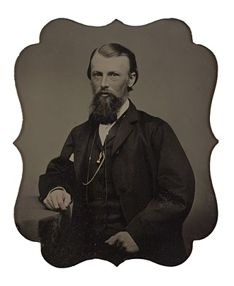 William John Wills - Photograph of William John Wills attributed to Thomas Adams Hill