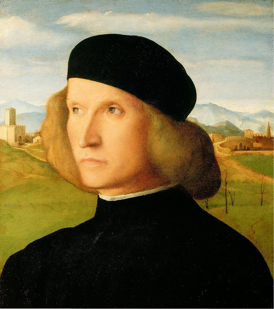 File:Portrait of a young man (1505-09); Giovanni Bellini ...