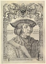 Portrait of the Emperor Maximilian I in an Architectural Frame (copy) MET DP820488.jpg