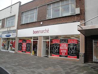 Bonmarché - A Bonmarche store in Hampshire