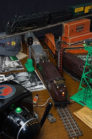 Lionel Corporation - Post-war Lionel trains and accessories