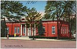 Post office, Franklin, Pa (86961).jpg